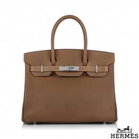 Hermès Birkin 30 Tan Epsom PHW